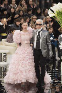 Pokaz Chanel Karl Lagerfeld