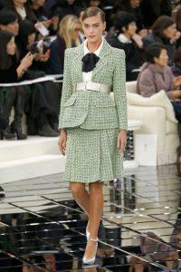 Pokaz Chanel haute couture wiosna lato zielen