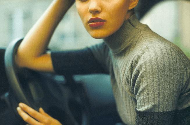 Sesja Anja Rubik dla Cosmopolitan 1998