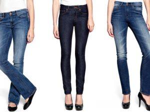jak dobrać jeansy damskie do sylwetki