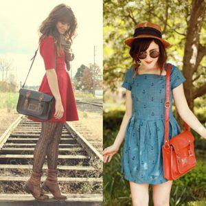 przykład modnej torebki
