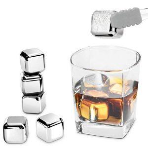kostki stalowe do drinków