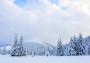 Krynica-Zdrój zimą